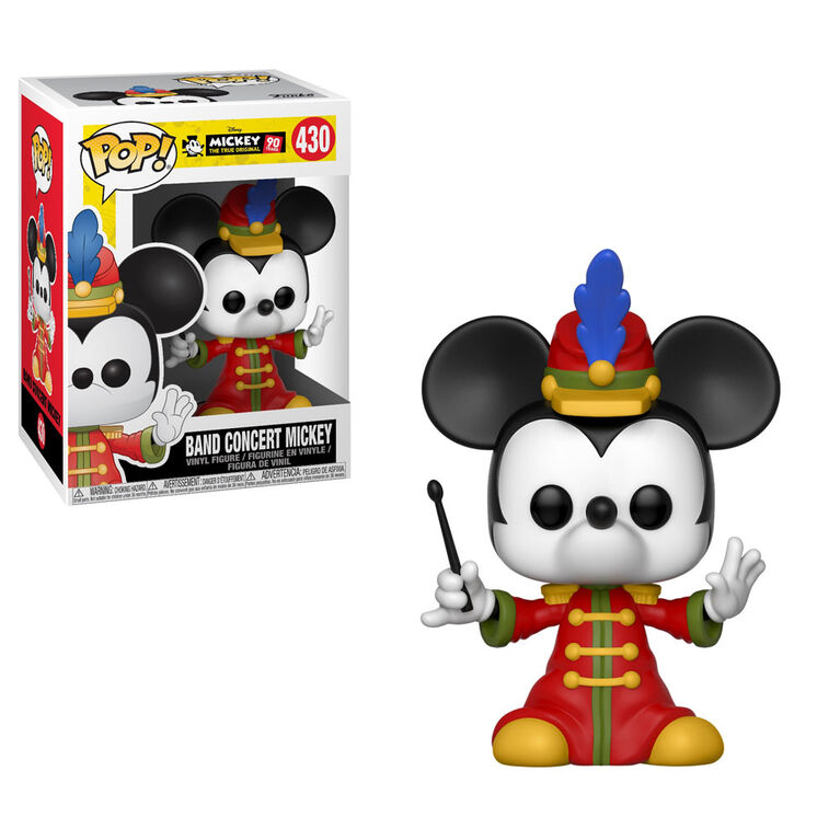 Funko POP! Disney: Mickey's 90th - Band Concert Mickey Vinyl Figure