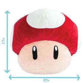 Club Mocchi-Mocchi - Super Mario Jumbo Mushroom Plush