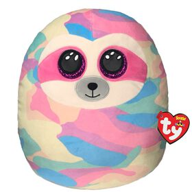 Ty Squish Cooper Pastel Sloth 14 inch