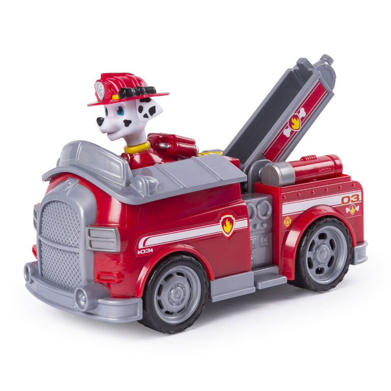 Paw Patrol Marshall S Transforming Fire Truck With Pop Out Water