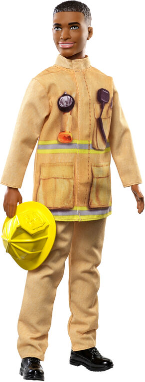 Barbie Firefighter Ken Doll