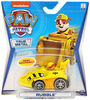 PAW Patrol, True Metal Rubble Collectible Die-Cast Vehicle, Classic Series 1:55 Scale