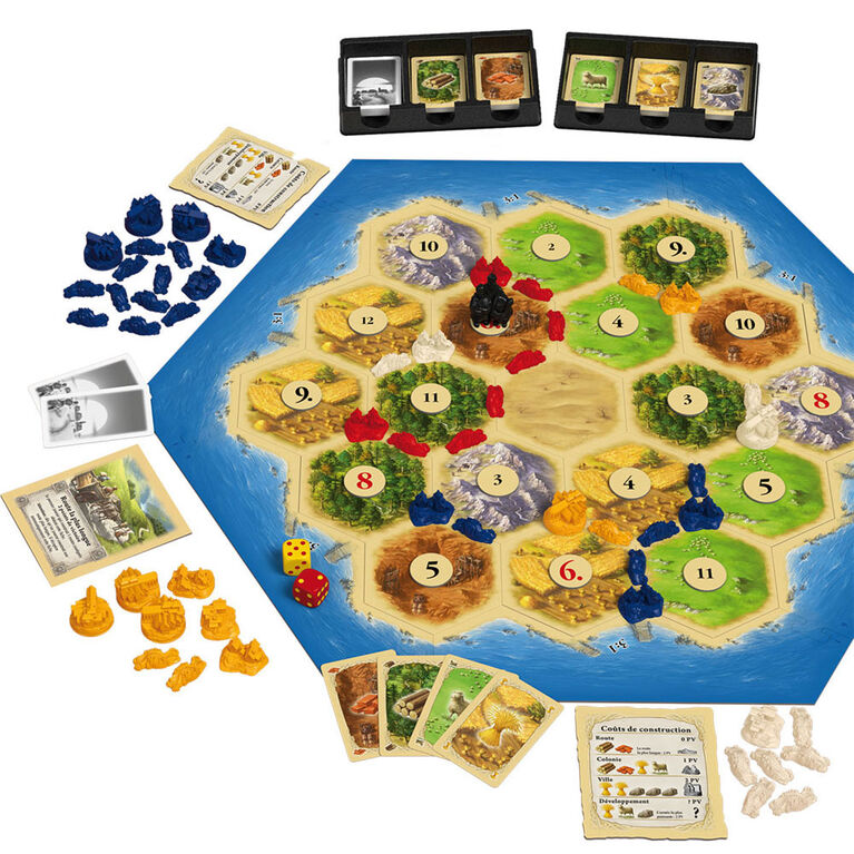 Catan - French Edition