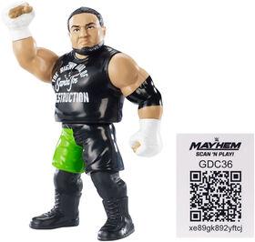 WWE Samoa Joe Retro App Action Figure.