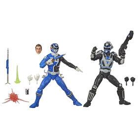 Power Rangers Lightning Collection Spectrum Variant S.P.D. A-Squad Versus B-Squad Blue Ranger
