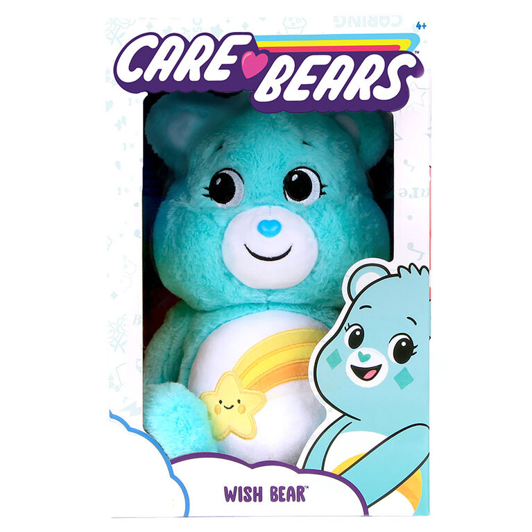 "Care Bears Basic 14"" Plush - Wish Bear"
