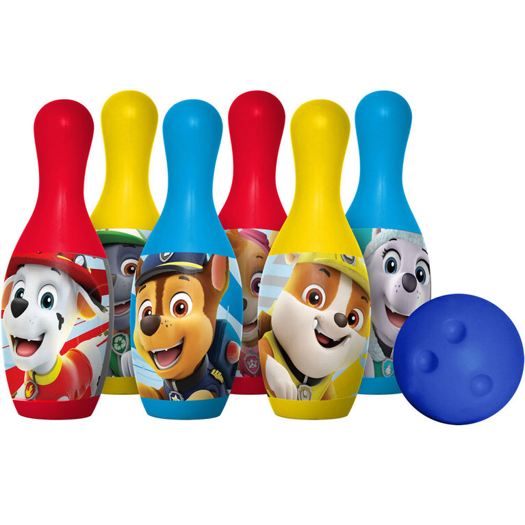 Ensemble de bowling en plastique La Patrouille sur Pattes