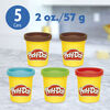 Play-Doh Kitchen Creations Candy Delight Playset with 5 Play-Doh Cans, Non-Toxic