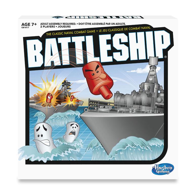 Hasbro Gaming - Jeu Battleship - les motifs peuvent varier