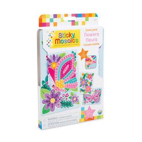 Sticky Mosaics Trousse Mobile Fleurs - Notre exclusivité
