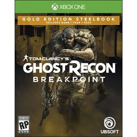 Tom Clancy's Ghost Recon Breakpoint Gold Steelbook Edition - Xbox One - Estimated Ship date: Oct 1st, 2019