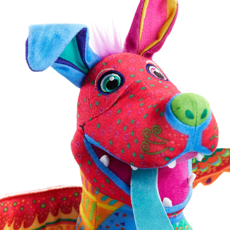 Disney/Pixar Coco Dante Alebrije Feature Plush - English Edition