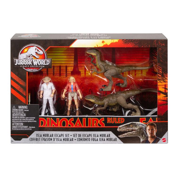 Jurassic World Isla Nublar Escape Set - R Exclusive