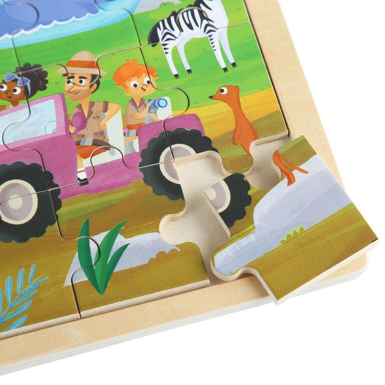 Imaginarium Discovery - Casse-tête en bois - Zoo