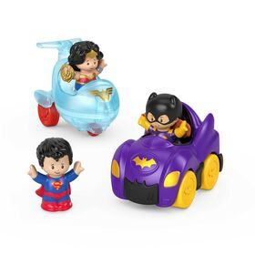 Fisher-Price Little People DC Super Friends Crime Fighting Gift Set