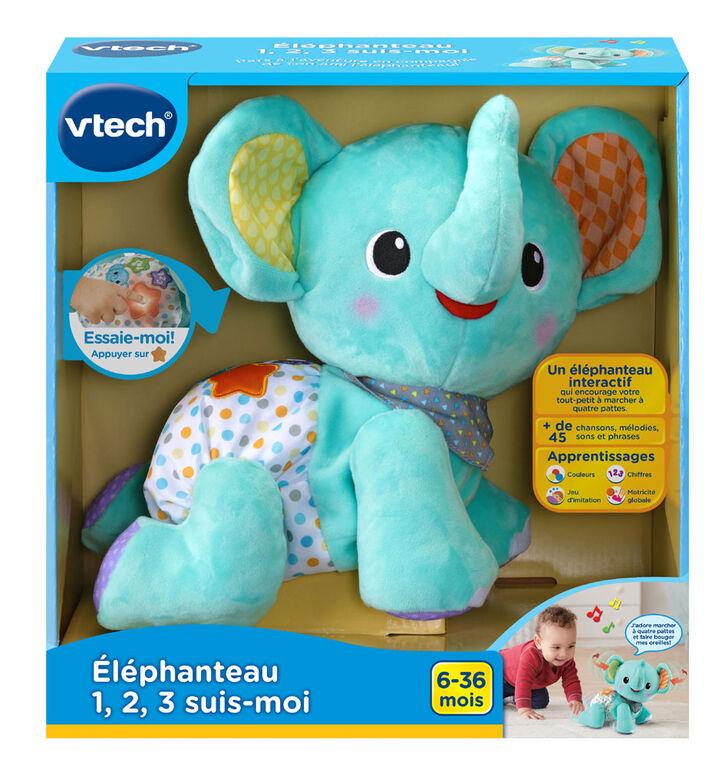 VTech Explore & Crawl Elephant - French Version