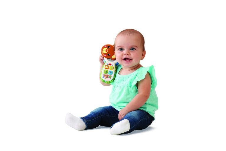 Peek-a-Bear Baby Phone - French Edition