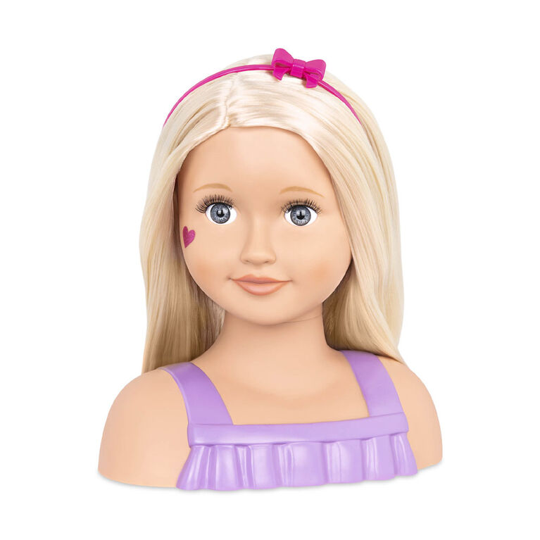 Our Generation, Trista, Doll Face, 9-inch Doll Styling Head