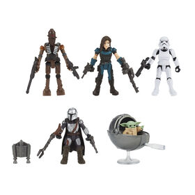 Star Wars Mission Fleet Defend The Child 5-Pack with Accessories