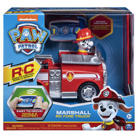 PAW Patrol, Marshall Remote Control Fire Truck with 2-Way Steering
