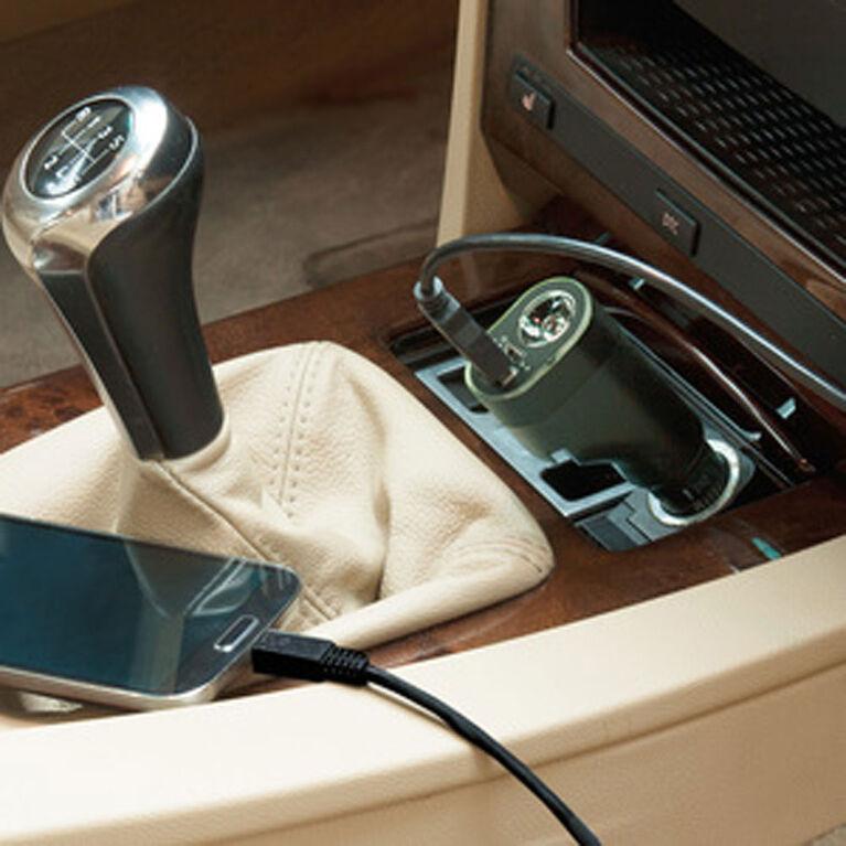 Chargeur d'auto 6-en-1 de Secur avec port USB