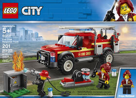 LEGO City Town Fire Chief Response Truck 60231