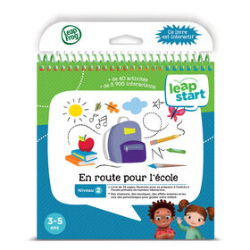 LeapFrog LeapStart First Day of School - Activity Book - French Version