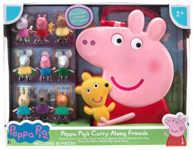 Peppa Pig Carry Along Friends 10pc