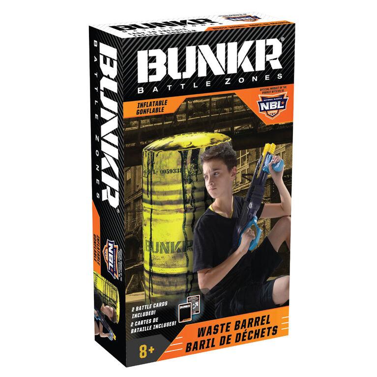 BUNK Battlezone Inflatable Waste Barrel
