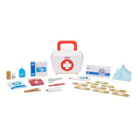 Trousse de premiers soins Little Tikes, jouet réaliste de docteur pour enfants, comprend 25 accessoires