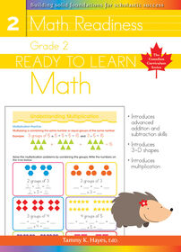Grade 2 - Ready To Learn Math - Édition anglaise