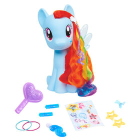 Poney de Coiffure My Little Pony - Rainbow Dash