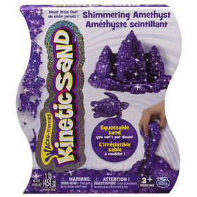 Kinetic Sand 1lb Shimmering Purple Amethyst