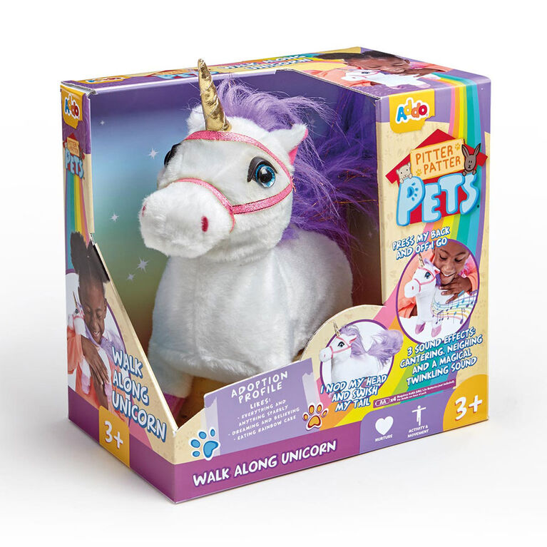 Licorne marchante Pitter Patter Pets.