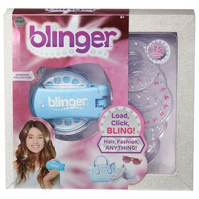 Blinger - Collection de diamants - bleu.