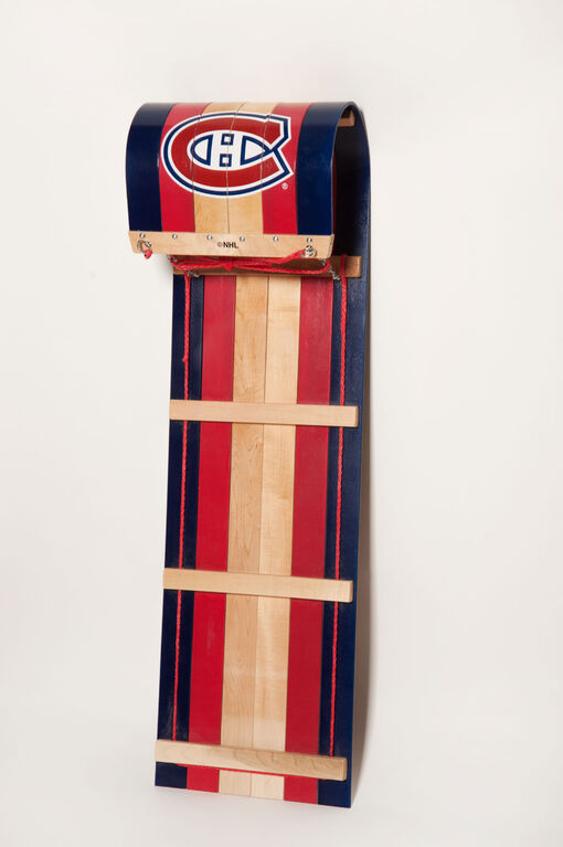 JAB - 4' Toboggan with NHL Montreal Canadiens team's logo