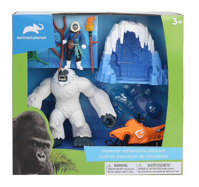 Animal Planet - Monster Adventure Playset - Yeti - R Exclusive
