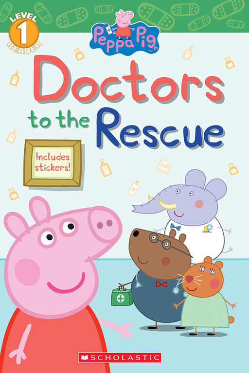 Scholastic - Peppa Pig: Doctors to the Rescue - English Edition