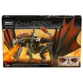 Mega Construx - Game of Thrones - Daenerys  et  Drogon