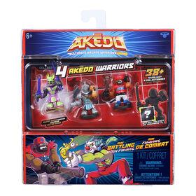 Akedo Ultimate Arcade Warriors Warrior Collector Pack
