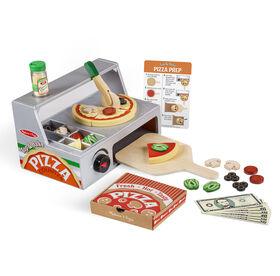 Le comptoir de pizza Top & Bake - les motifs peuvent varier