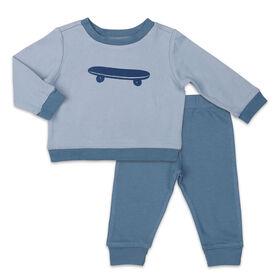 Koala Baby Shirt and Pants Set, Skateboard - 3-6 Months