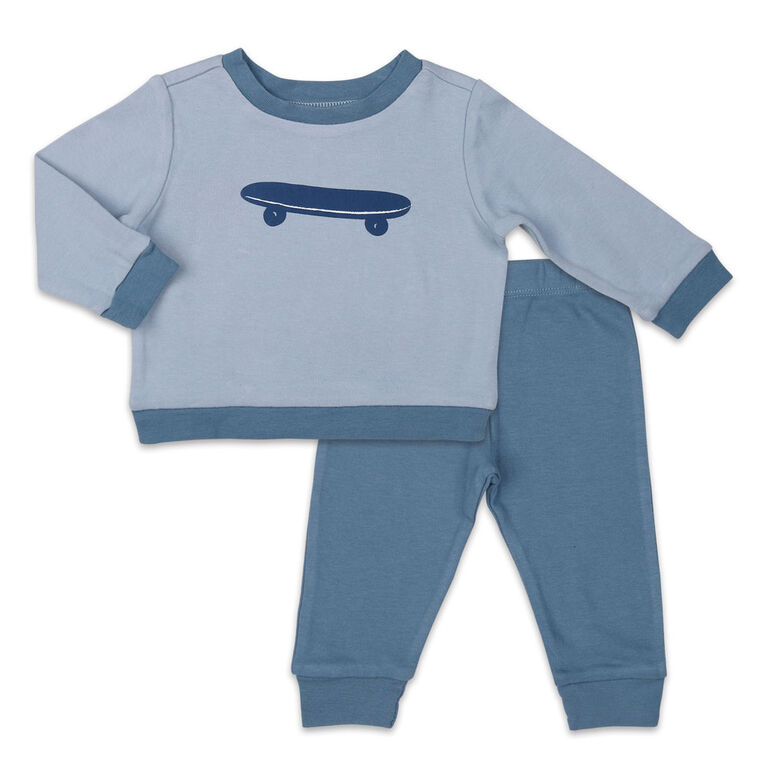 Koala Baby Shirt and Pants Set, Skateboard - 3-6 Months
