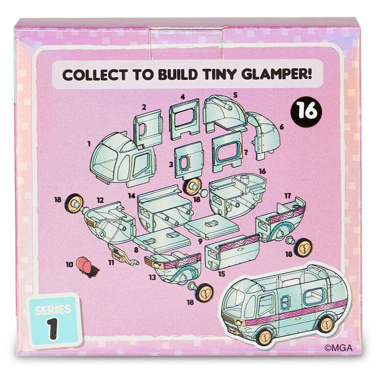 L.O.L. Surprise Tiny Toys - Collect to Build a Tiny Glamper - English Edition