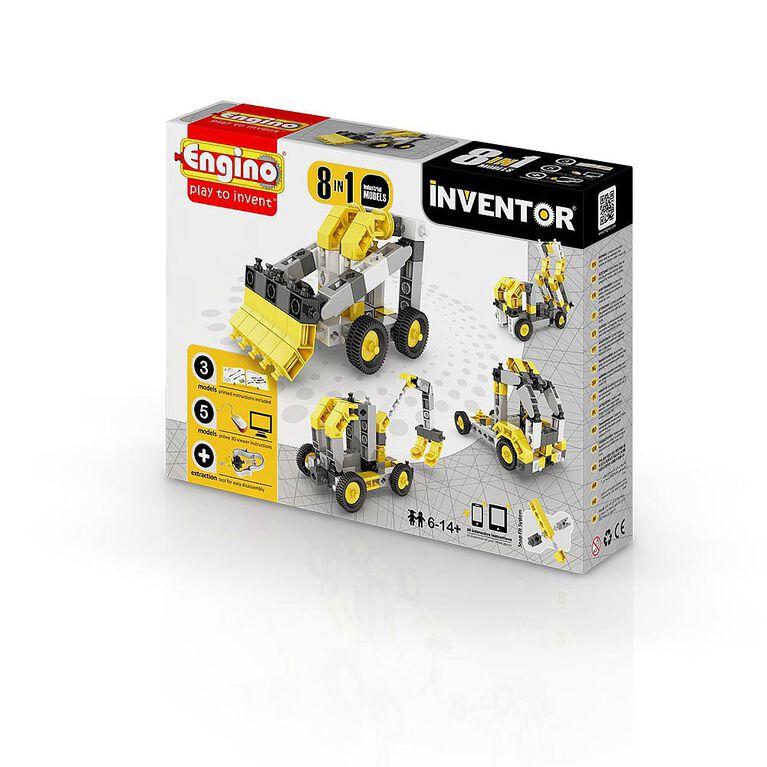 Engino - Inventor 8 Models Industrial
