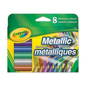 Metallic Markers - 8 ct