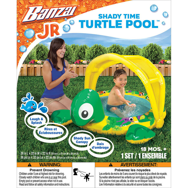 Banzai  Shady Time Turtle Pool