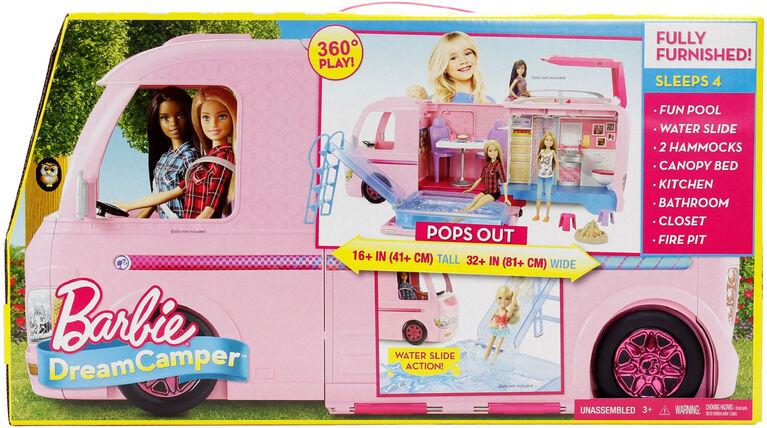 Barbie DreamCamper Playset with Pool