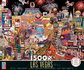 Ceaco Las Vegas Puzzle (1500pc)