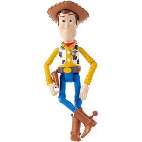 "Disney Pixar Toy Story 7"" Basic Woody Figure"